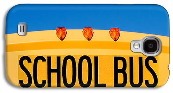 School Bus Top Galaxy S4 Case by Todd Klassy
