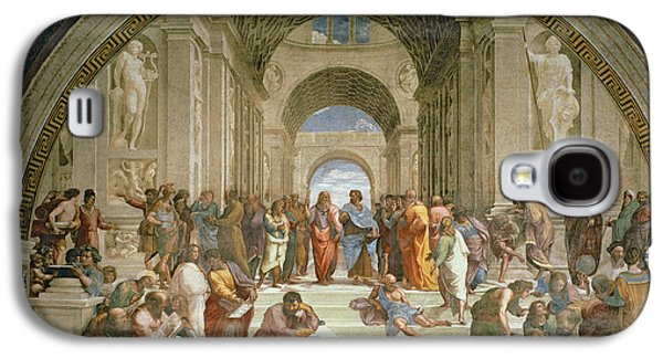 School Of Athens From The Stanza Della Segnatura Galaxy S4 Case
