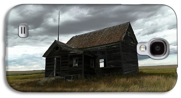 Schoolhouse On The Prairie Galaxy S4 Case by Jeff Swan