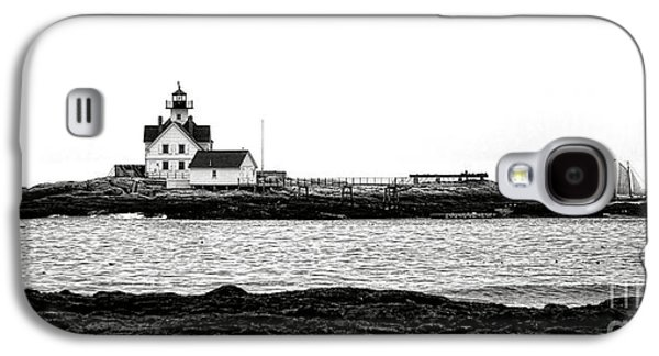 Schooner At Cuckolds Light Galaxy S4 Case by Olivier Le Queinec