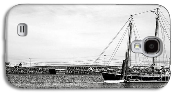 Schooner At The Cribstone Bridge Galaxy S4 Case