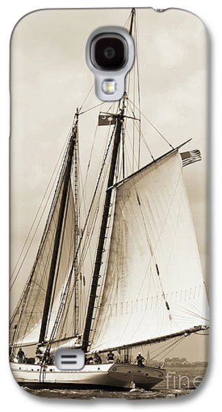 Schooner Sailboat Spirit Of South Carolina Sailing Galaxy S4 Case