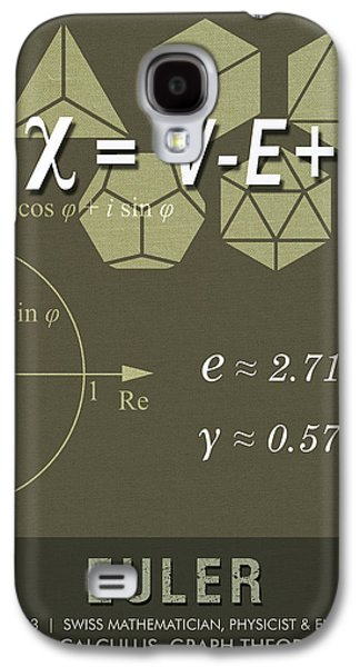 Science Posters - Leonhard Euler - Mathematician, Physicist, Engineer Galaxy S4 Case
