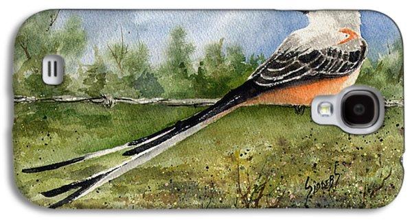 Scissor-tail Flycatcher Galaxy S4 Case by Sam Sidders