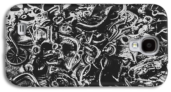 Scooter Mechanics Abstract Galaxy S4 Case by Jorgo Photography - Wall Art Gallery