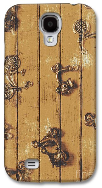 Scooter Shed  Galaxy S4 Case by Jorgo Photography - Wall Art Gallery