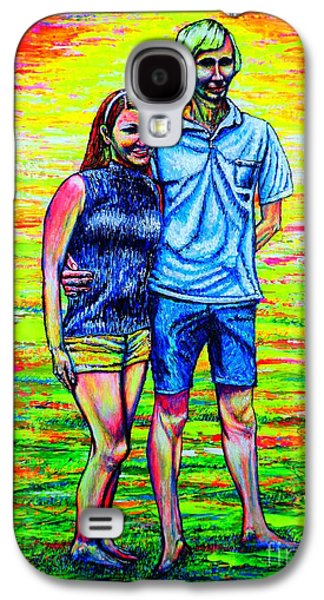 Scott Ross And Wife Galaxy S4 Case by Viktor Lazarev