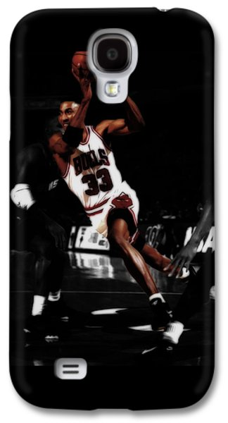 Scottie Pippen On The Move Galaxy S4 Case