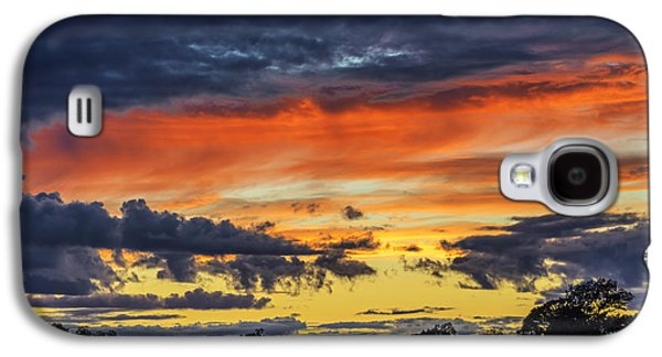Galaxy S4 Case featuring the photograph Scottish Sunset by Jeremy Lavender Photography