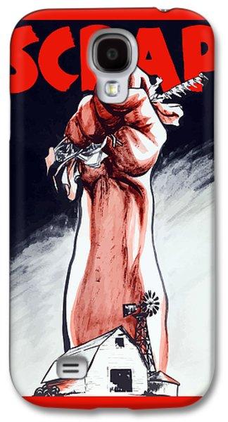 Scrap - Ww2 Propaganda Galaxy S4 Case by War Is Hell Store