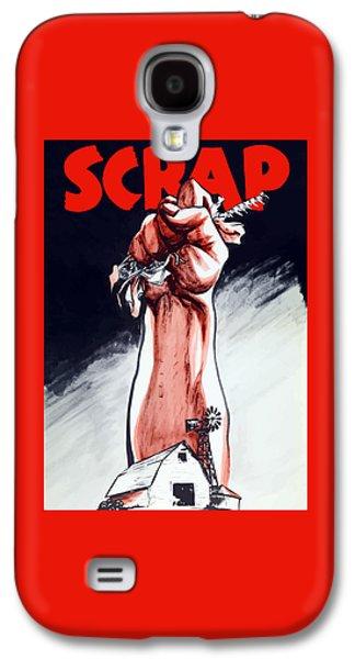 Scrap - Ww2 Propaganda Galaxy S4 Case