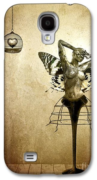 Scream Of A Butterfly Galaxy S4 Case by Jacky Gerritsen