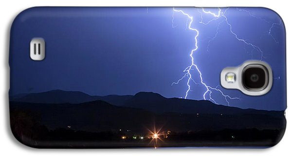 Galaxy S4 Case featuring the photograph Scribble In The Night by James BO Insogna