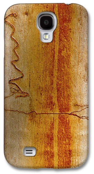 Galaxy S4 Case featuring the photograph Scribbly Gum Bark by Werner Padarin