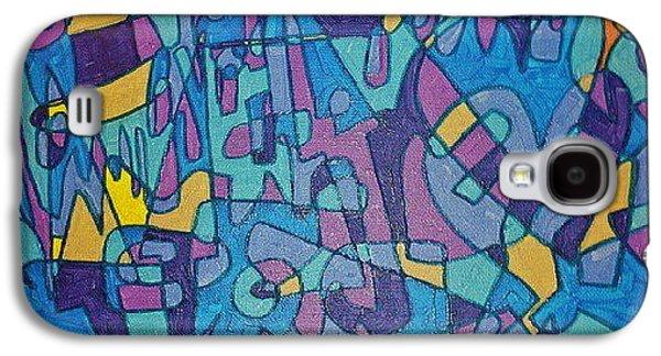 Robert Smith Music Galaxy S4 Case - Scribz by TSB Art Gallery Dennis Thompson Jr Curator Photographer