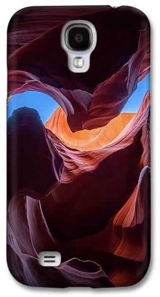 Sculptures Of Desert Galaxy S4 Case by Edgars Erglis