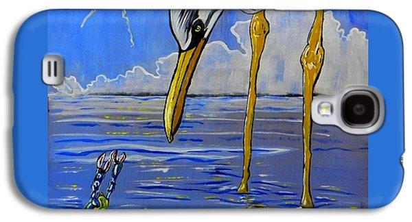 Sea Birds Galaxy S4 Case by W Gilroy