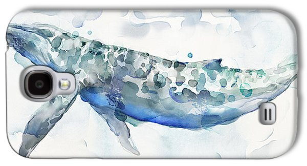 Whale Galaxy S4 Case - Sea Giant by Mauro DeVereaux
