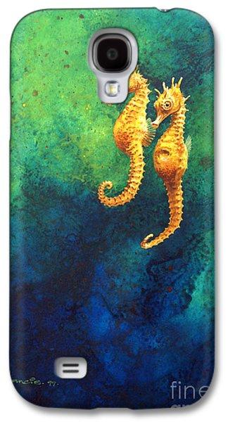 Sea Horses Galaxy S4 Case by John Francis