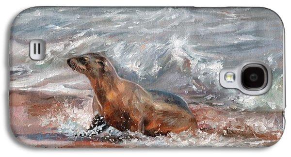 Sea Lion Galaxy S4 Case