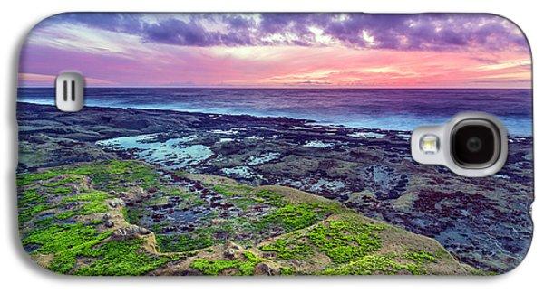 Sea Moss Sunset Galaxy S4 Case by Robert Bynum