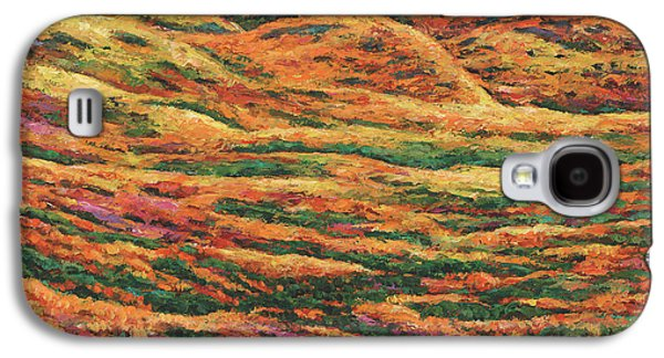 Fall Scenes Galaxy S4 Case - Sea Of Tranquility by Johnathan Harris