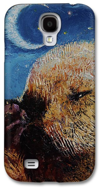 Otter Galaxy S4 Case - Sea Otter Pup by Michael Creese