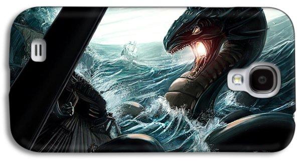 Sea Serpent Galaxy S4 Case