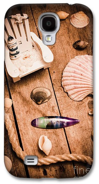 Sea Shell Decking Galaxy S4 Case by Jorgo Photography - Wall Art Gallery