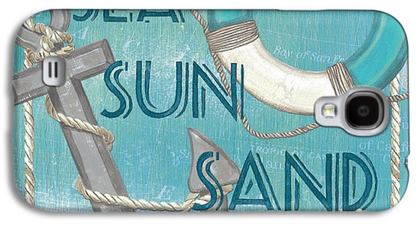 Sea Sun Sand Galaxy S4 Case by Debbie DeWitt