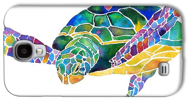 Sea Turtle Celebration 4 Prints Only Galaxy S4 Case by Jo Lynch