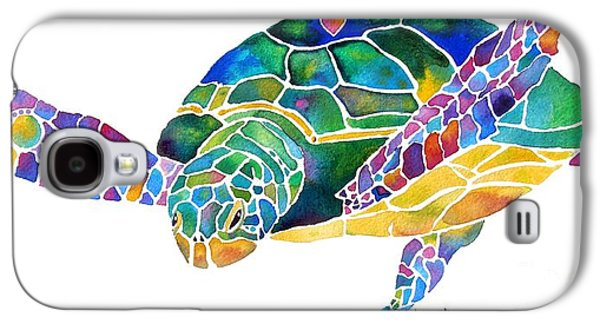 Sea Turtle Celebration 4 Prints Only Galaxy S4 Case