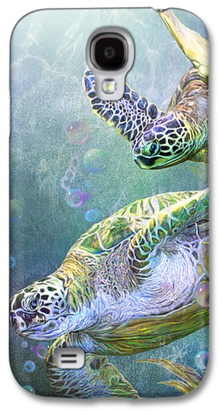Sea Turtles - Ancient Travelers Galaxy S4 Case