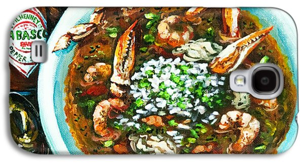 Food And Beverage Galaxy S4 Case - Seafood Gumbo by Dianne Parks