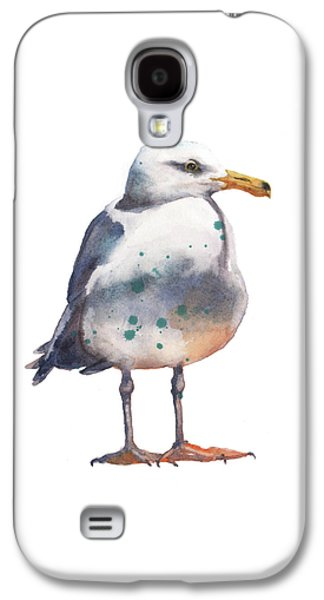 Seagull Print Galaxy S4 Case by Alison Fennell
