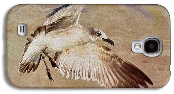 Seagull Swirl Galaxy S4 Case