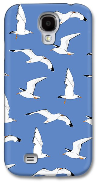 Seagulls Gathering At The Cricket Galaxy S4 Case