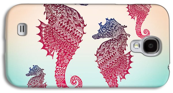 Seahorse Galaxy S4 Case by Mark Ashkenazi