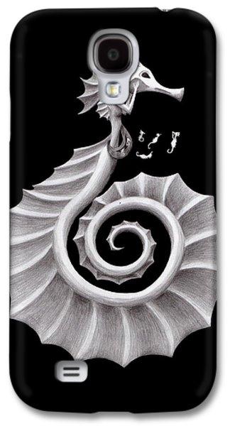 Seahorse Siren Galaxy S4 Case by Sarah Krafft