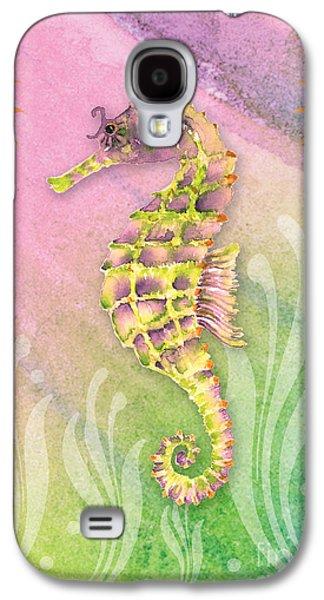 Seahorse Violet Galaxy S4 Case