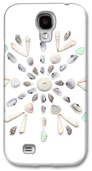 Seashell Snowflake 2 Galaxy S4 Case by Jennifer Booher