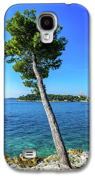 Seaside Leaning Tree In Rovinj, Croatia Galaxy S4 Case