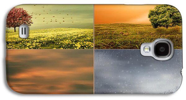Cherry Blossoms Galaxy S4 Case - Seasons' Delight by Lourry Legarde