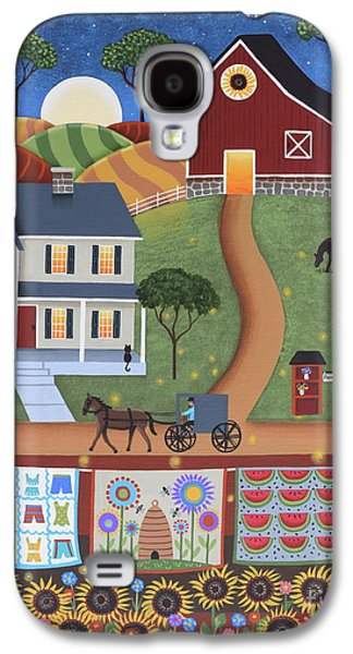 Seasons Of Rural Life - Summer Galaxy S4 Case by Mary Charles