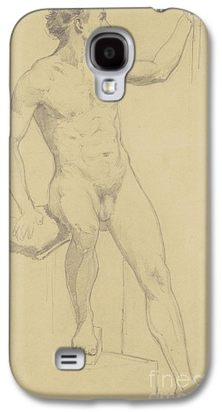 Seated Male Nude Galaxy S4 Case