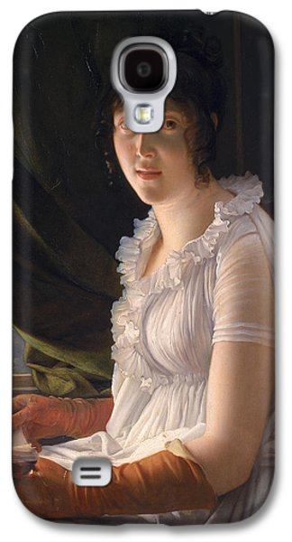 Seated Portrait Of Marie Philippe Claude Walbonne Galaxy S4 Case