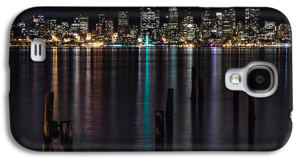 Seattle At Night Galaxy S4 Case