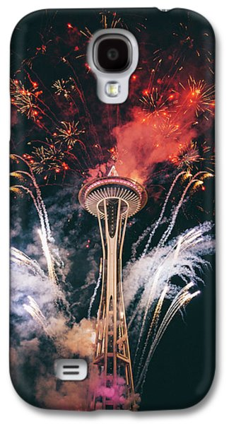Seattle Galaxy S4 Case by Happy Home Artistry