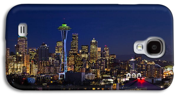 Seattle Seahawks Space Needle Galaxy S4 Case