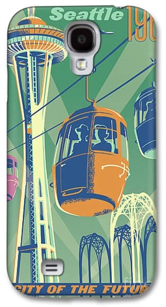 Seattle Space Needle 1962 - Alternate Galaxy S4 Case